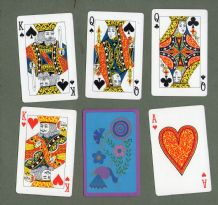 Collectible  Non-standard playing cards courts.Hallmark